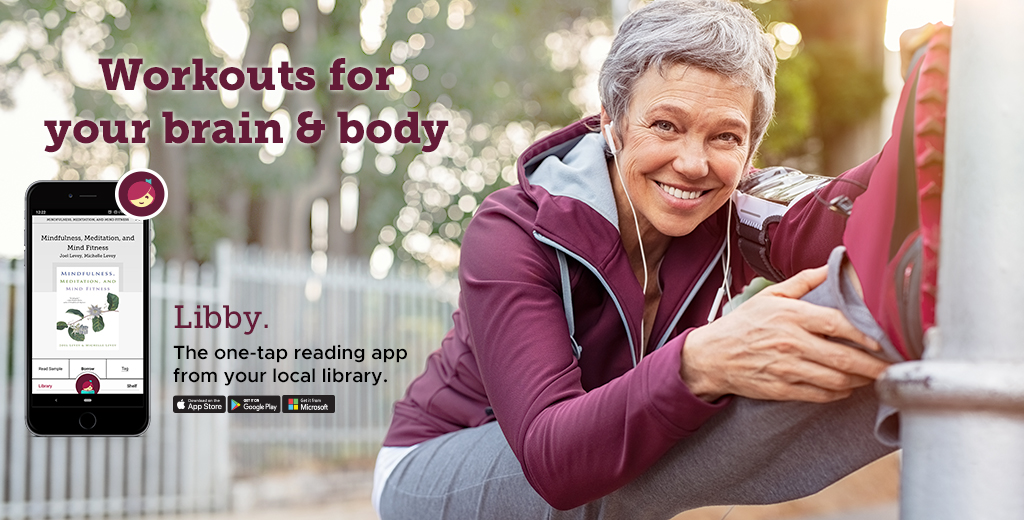 workouts for your brain and body, take ebooks with you.
